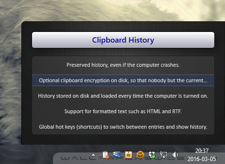 Clipboard Extender Screen shot