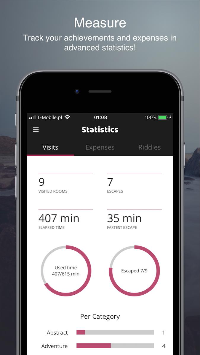 Statistics - iPhone