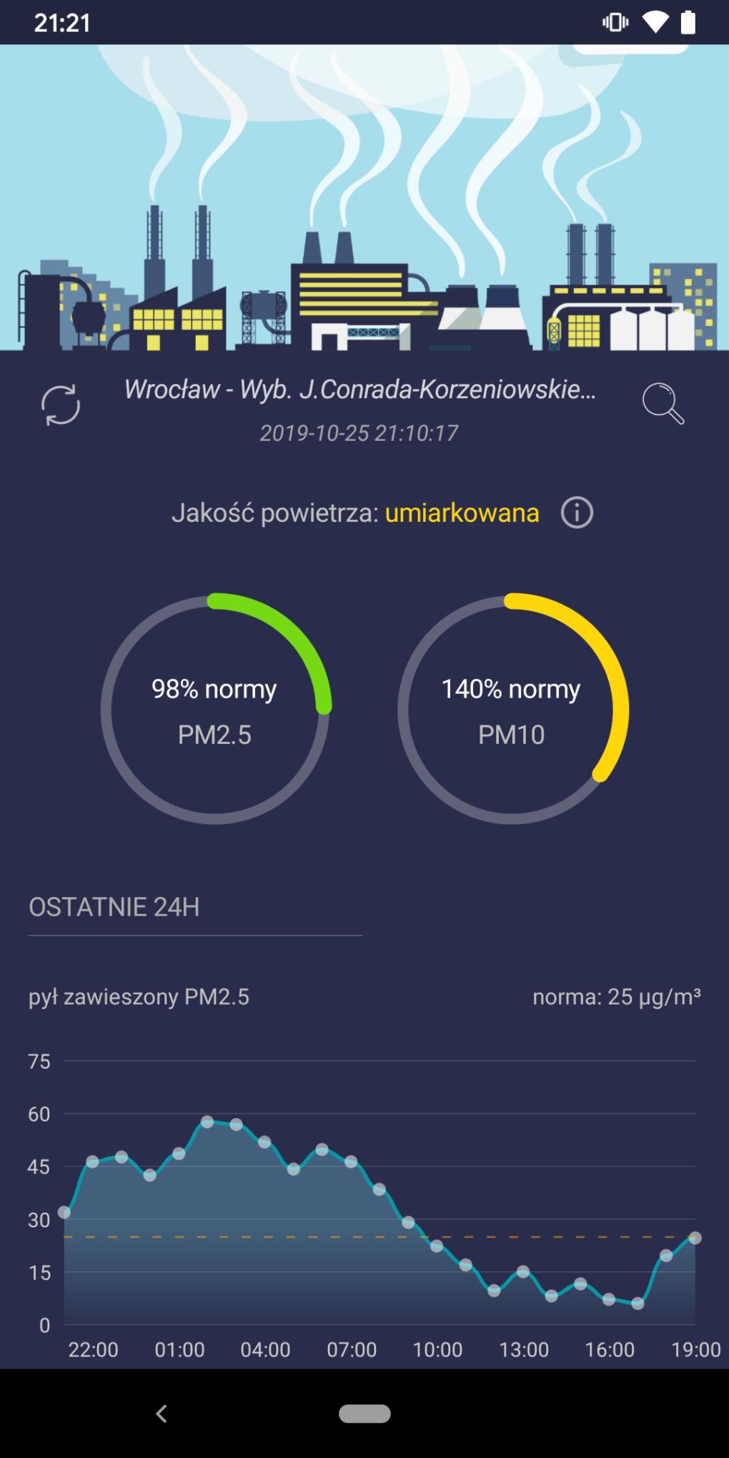 Smog Polska - Android