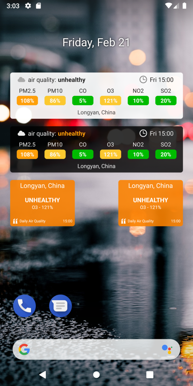 Android - Widgets